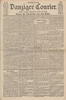 Danziger Courier : Kleine Danziger Zeitung für Stadt und Land : Organ für Jedermann aus dem Volke. Jg.19, Nr. 90 (19 April 1900)