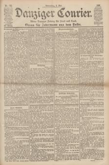 Danziger Courier : Kleine Danziger Zeitung für Stadt und Land : Organ für Jedermann aus dem Volke. Jg.19, Nr. 102 (3 Mai 1900)