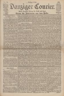 Danziger Courier : Kleine Danziger Zeitung für Stadt und Land : Organ für Jedermann aus dem Volke. Jg.19, Nr. 106 (8 Mai 1900)
