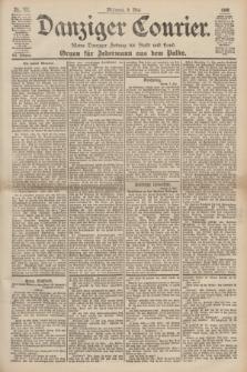 Danziger Courier : Kleine Danziger Zeitung für Stadt und Land : Organ für Jedermann aus dem Volke. Jg.19, Nr. 107 (9 Mai 1900)