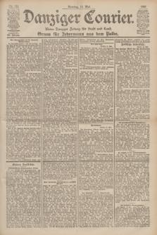 Danziger Courier : Kleine Danziger Zeitung für Stadt und Land : Organ für Jedermann aus dem Volke. Jg.19, Nr. 111 (13 Mai 1900) + dod.