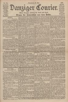 Danziger Courier : Kleine Danziger Zeitung für Stadt und Land : Organ für Jedermann aus dem Volke. Jg.19, Nr. 121 (26 Mai 1900)