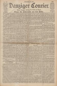 Danziger Courier : Kleine Danziger Zeitung für Stadt und Land : Organ für Jedermann aus dem Volke. Jg.19, Nr. 144 (23 Juni 1900)
