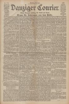 Danziger Courier : Kleine Danziger Zeitung für Stadt und Land : Organ für Jedermann aus dem Volke. Jg.19, Nr. 146 (28 Juni 1900)