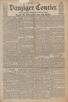 Danziger Courier : Kleine Danziger Zeitung für Stadt und Land : Organ für Jedermann aus dem Volke. Jg.19, Nr. 150 (30 Juni 1900)