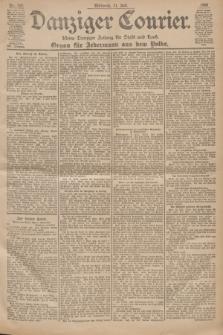 Danziger Courier : Kleine Danziger Zeitung für Stadt und Land : Organ für Jedermann aus dem Volke. Jg.19, Nr. 159 (11 Juli 1900)