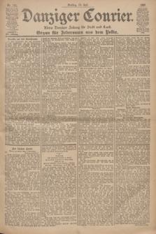 Danziger Courier : Kleine Danziger Zeitung für Stadt und Land : Organ für Jedermann aus dem Volke. Jg.19, Nr. 161 (13 Juli 1900)