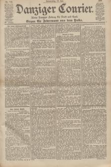 Danziger Courier : Kleine Danziger Zeitung für Stadt und Land : Organ für Jedermann aus dem Volke. Jg.19, Nr. 166 (19 Juli 1900)