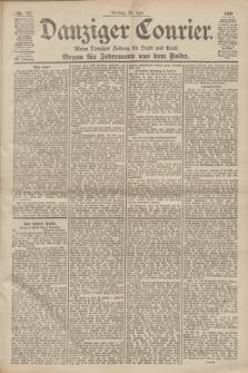 Danziger Courier : Kleine Danziger Zeitung für Stadt und Land : Organ für Jedermann aus dem Volke. Jg.19, Nr. 167 (20 Juli 1900)