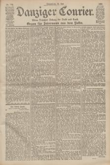 Danziger Courier : Kleine Danziger Zeitung für Stadt und Land : Organ für Jedermann aus dem Volke. Jg.19, Nr. 168 (21 Juli 1900)