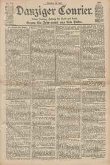 Danziger Courier : Kleine Danziger Zeitung für Stadt und Land : Organ für Jedermann aus dem Volke. Jg.19, Nr. 170 (24 Juli 1900)