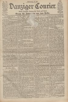 Danziger Courier : Kleine Danziger Zeitung für Stadt und Land : Organ für Jedermann aus dem Volke. Jg.19, Nr. 172 (26 Juli 1900)