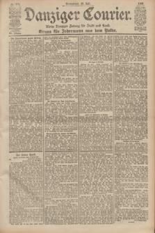 Danziger Courier : Kleine Danziger Zeitung für Stadt und Land : Organ für Jedermann aus dem Volke. Jg.19, Nr. 174 (28 Juli 1900)