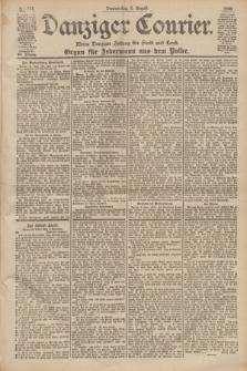 Danziger Courier : Kleine Danziger Zeitung für Stadt und Land : Organ für Jedermann aus dem Volke. Jg.19, Nr. 178 (2 August 1900)