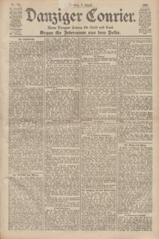 Danziger Courier : Kleine Danziger Zeitung für Stadt und Land : Organ für Jedermann aus dem Volke. Jg.19, Nr. 181 (5 August 1900) + dod.
