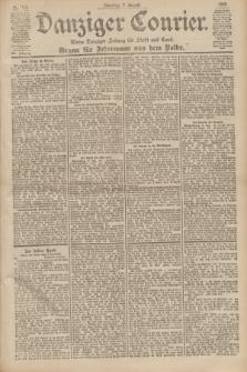 Danziger Courier : Kleine Danziger Zeitung für Stadt und Land : Organ für Jedermann aus dem Volke. Jg.19, Nr. 182 (7 August 1900)