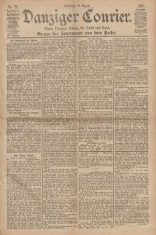 Danziger Courier : Kleine Danziger Zeitung für Stadt und Land : Organ für Jedermann aus dem Volke. Jg.19, Nr. 189 (15 August 1900)