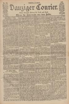 Danziger Courier : Kleine Danziger Zeitung für Stadt und Land : Organ für Jedermann aus dem Volke. Jg.19, Nr. 192 (18 August 1900)
