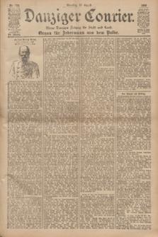 Danziger Courier : Kleine Danziger Zeitung für Stadt und Land : Organ für Jedermann aus dem Volke. Jg.19, Nr. 193 (19 August 1900) + dod.