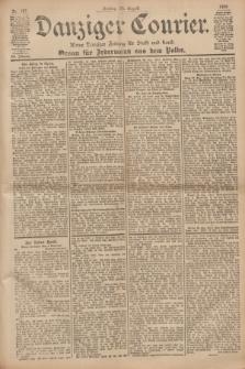 Danziger Courier : Kleine Danziger Zeitung für Stadt und Land : Organ für Jedermann aus dem Volke. Jg.19, Nr. 197 (24 August 1900)
