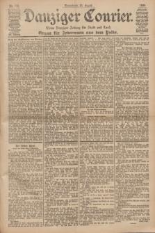 Danziger Courier : Kleine Danziger Zeitung für Stadt und Land : Organ für Jedermann aus dem Volke. Jg.19, Nr. 198 (25 August 1900)