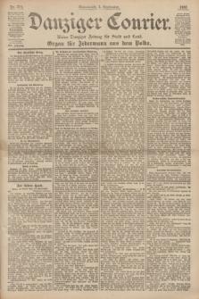Danziger Courier : Kleine Danziger Zeitung für Stadt und Land : Organ für Jedermann aus dem Volke. Jg.19, Nr. 204 (1 September 1900)