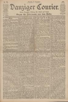 Danziger Courier : Kleine Danziger Zeitung für Stadt und Land : Organ für Jedermann aus dem Volke. Jg.19, Nr. 205 (2 September 1900) + dod.