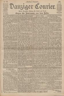 Danziger Courier : Kleine Danziger Zeitung für Stadt und Land : Organ für Jedermann aus dem Volke. Jg.19, Nr. 206 (4 September 1900)