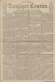 Danziger Courier : Kleine Danziger Zeitung für Stadt und Land : Organ für Jedermann aus dem Volke. Jg.19, Nr. 208 (6 September 1900)