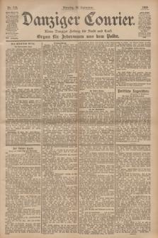 Danziger Courier : Kleine Danziger Zeitung für Stadt und Land : Organ für Jedermann aus dem Volke. Jg.19, Nr. 218 (18 September 1900)