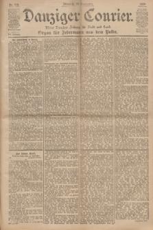Danziger Courier : Kleine Danziger Zeitung für Stadt und Land : Organ für Jedermann aus dem Volke. Jg.19, Nr. 219 (19 September 1900)