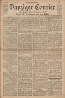 Danziger Courier : Kleine Danziger Zeitung für Stadt und Land : Organ für Jedermann aus dem Volke. Jg.19, Nr. 223 (23 September 1900) + dod.