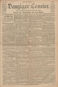Danziger Courier : Kleine Danziger Zeitung für Stadt und Land : Organ für Jedermann aus dem Volke. Jg.19, Nr. 224 (25 September 1900)
