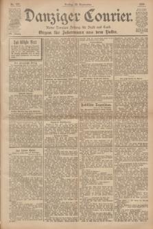 Danziger Courier : Kleine Danziger Zeitung für Stadt und Land : Organ für Jedermann aus dem Volke. Jg.19, Nr. 227 (28 September 1900)