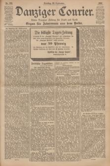 Danziger Courier : Kleine Danziger Zeitung für Stadt und Land : Organ für Jedermann aus dem Volke. Jg.19, Nr. 229 (30 September 1900) + dod.