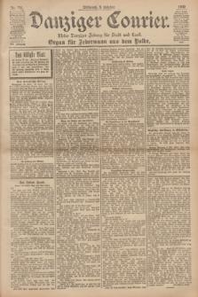 Danziger Courier : Kleine Danziger Zeitung für Stadt und Land : Organ für Jedermann aus dem Volke. Jg.19, Nr. 231 (3 Oktober 1900)