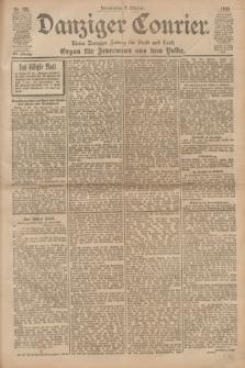 Danziger Courier : Kleine Danziger Zeitung für Stadt und Land : Organ für Jedermann aus dem Volke. Jg.19, Nr. 232 (4 Oktober 1900)