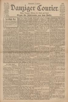 Danziger Courier : Kleine Danziger Zeitung für Stadt und Land : Organ für Jedermann aus dem Volke. Jg.19, Nr. 234 (6 Oktober 1900)