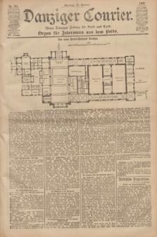 Danziger Courier : Kleine Danziger Zeitung für Stadt und Land : Organ für Jedermann aus dem Volke. Jg.19, Nr. 241 (14 Oktober 1900) + dod.