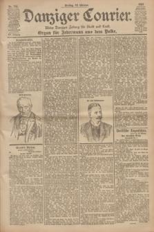 Danziger Courier : Kleine Danziger Zeitung für Stadt und Land : Organ für Jedermann aus dem Volke. Jg.19, Nr. 245 (19 Oktober 1900)