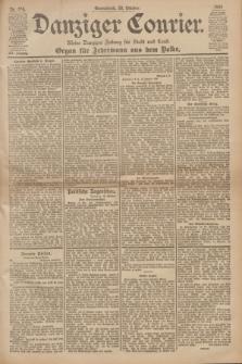 Danziger Courier : Kleine Danziger Zeitung für Stadt und Land : Organ für Jedermann aus dem Volke. Jg.19, Nr. 246 (20 Oktober 1900)