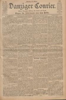 Danziger Courier : Kleine Danziger Zeitung für Stadt und Land : Organ für Jedermann aus dem Volke. Jg.19, Nr. 247 (21 Oktober 1900) + dod.