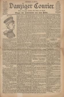Danziger Courier : Kleine Danziger Zeitung für Stadt und Land : Organ für Jedermann aus dem Volke. Jg.19, Nr. 252 (27 Oktober 1900)