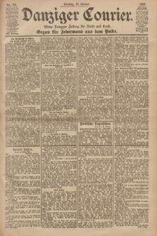Danziger Courier : Kleine Danziger Zeitung für Stadt und Land : Organ für Jedermann aus dem Volke. Jg.19, Nr. 254 (30 Oktober 1900)