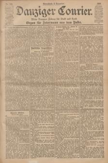 Danziger Courier : Kleine Danziger Zeitung für Stadt und Land : Organ für Jedermann aus dem Volke. Jg.19, Nr. 258 (3 November 1900)