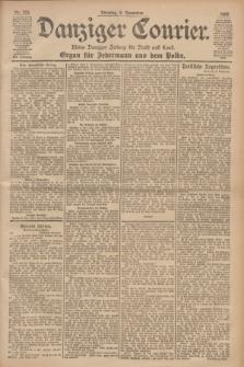 Danziger Courier : Kleine Danziger Zeitung für Stadt und Land : Organ für Jedermann aus dem Volke. Jg.19, Nr. 260 (6 November 1900)