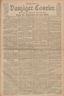Danziger Courier : Kleine Danziger Zeitung für Stadt und Land : Organ für Jedermann aus dem Volke. Jg.19, Nr. 262 (8 November 1900)