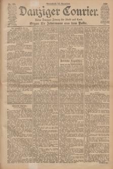 Danziger Courier : Kleine Danziger Zeitung für Stadt und Land : Organ für Jedermann aus dem Volke. Jg.19, Nr. 264 (10 November 1900)