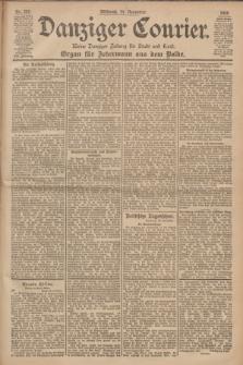 Danziger Courier : Kleine Danziger Zeitung für Stadt und Land : Organ für Jedermann aus dem Volke. Jg.19, Nr. 267 (14 November 1900)
