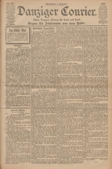 Danziger Courier : Kleine Danziger Zeitung für Stadt und Land : Organ für Jedermann aus dem Volke. Jg.19, Nr. 281 (1 Dezember 1900)